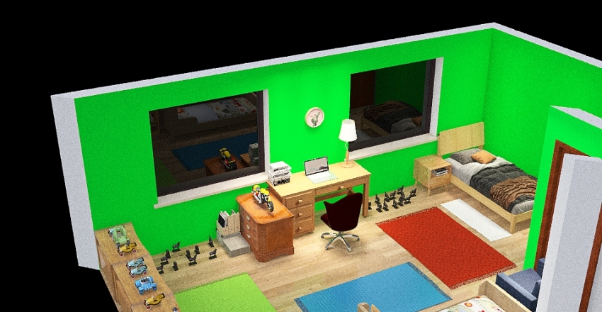 Pokoj_1 Interior Design Render