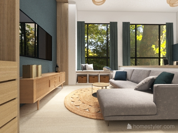 Copy of 0318北歐風 更新 Interior Design Render