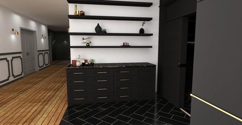 All about the kitchen Interior Design Render