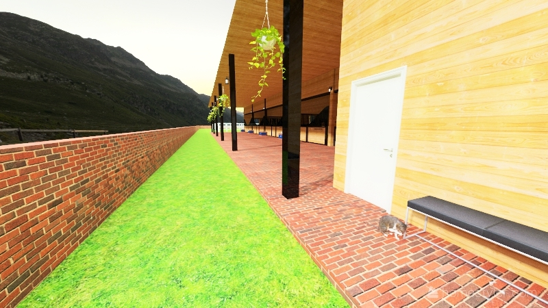 Barn A School Project Interior Design Render