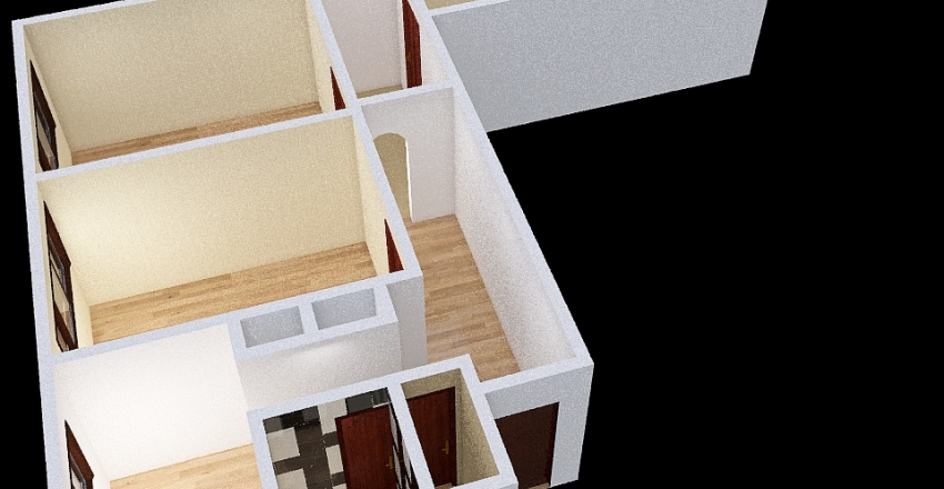 Copy of Copy of план1 саперный Interior Design Render