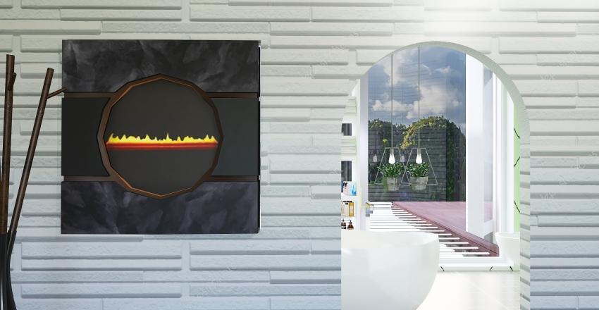 Paradise garden Interior Design Render