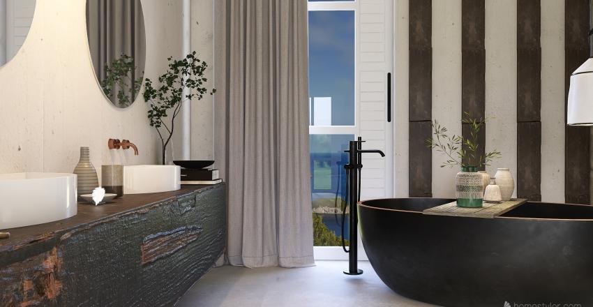 SIMPLE JAPANDI Interior Design Render