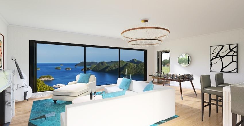 Michaud-Great Room Interior Design Render