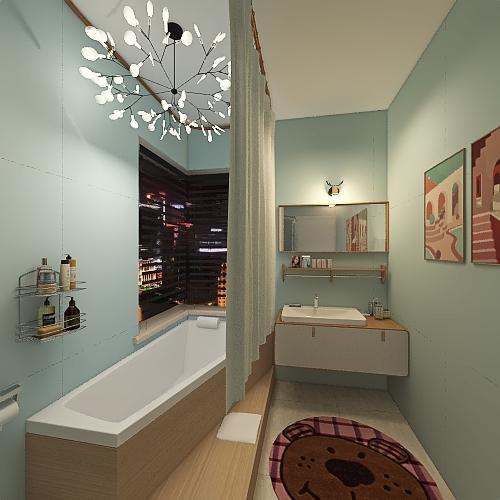 霏霏和齐齐的家 Interior Design Render