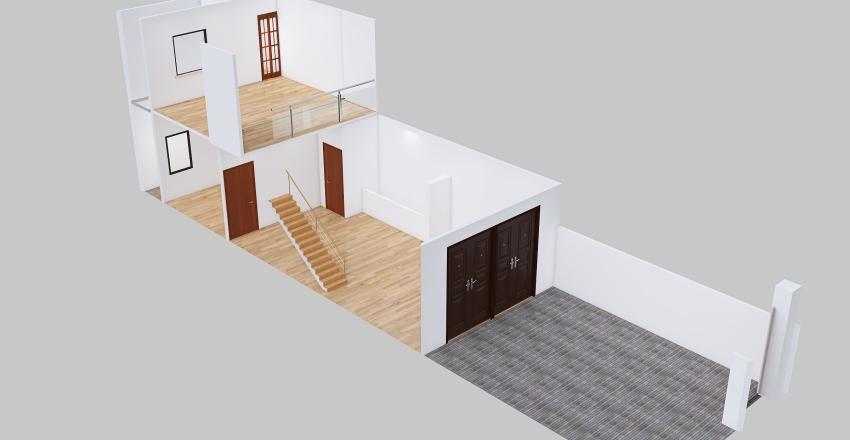 Nhà a sỷ-GAC LUNG-3D Interior Design Render