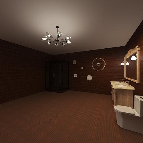 The Clock Restraunt Interior Design Render