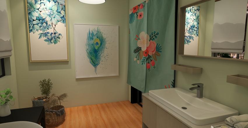 Single Home Interior Design Render