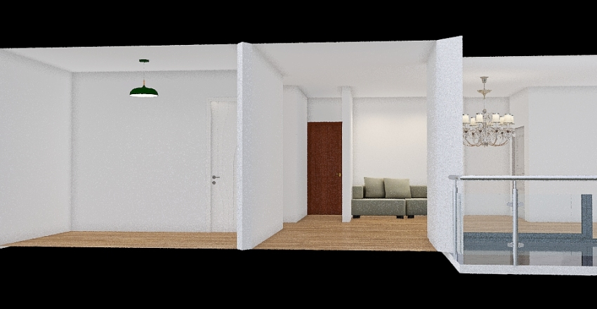 בית בת-שבע Interior Design Render
