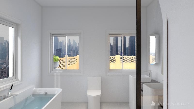 Light & Airy Home Interior Design Render