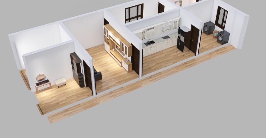 Ayshamu- Loft Floor_1 Interior Design Render