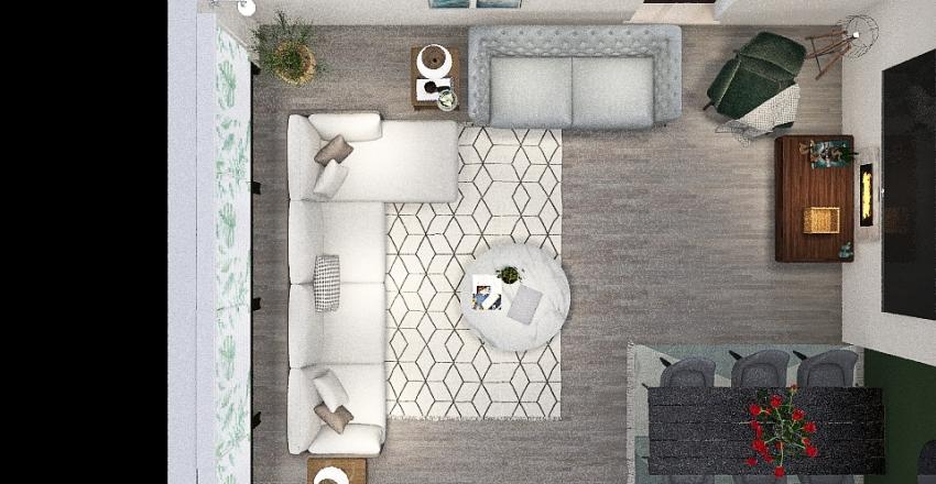 Shorten My Great room Interior Design Render