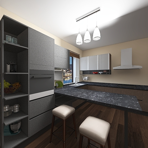 my first project Interior Design Render