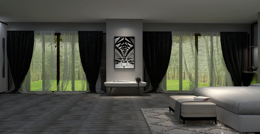 Dream room Interior Design Render