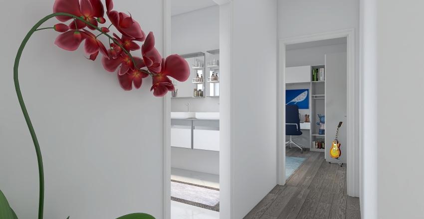 Appartamento Genova 8 Interior Design Render