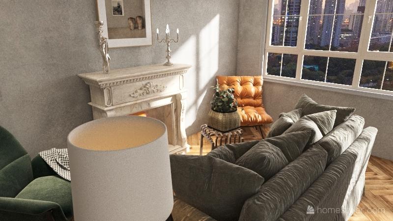 855 Apartment Interior Design Render