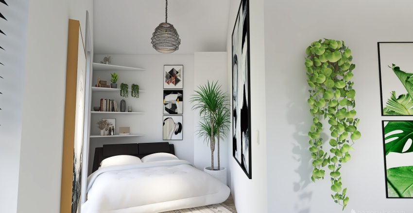 Chambre Hugo Interior Design Render