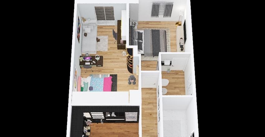 Attico - Nova 2p Interior Design Render