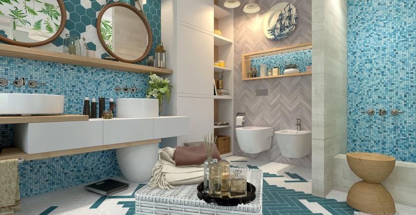 BRING THE BEACH HOME Interior Design Render