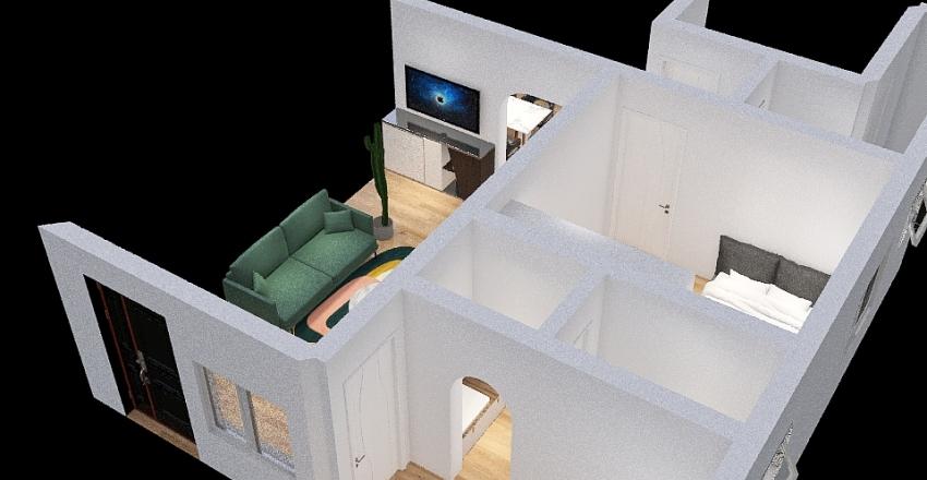 Individual House Interior Design Render