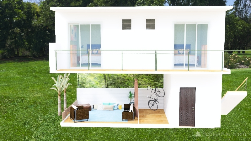 Copy of puxadinho Interior Design Render