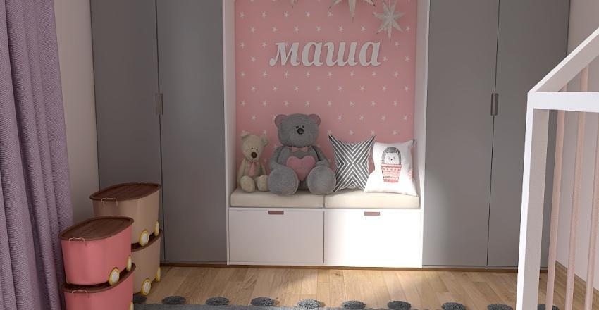 childroom  Interior Design Render