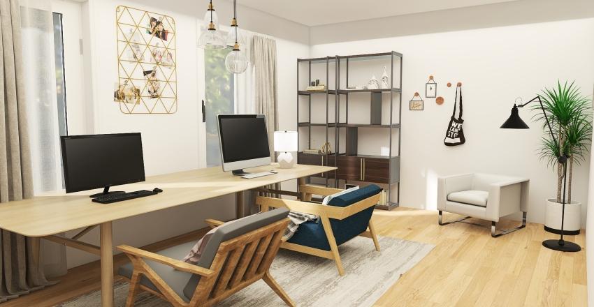 live laugh love house Interior Design Render