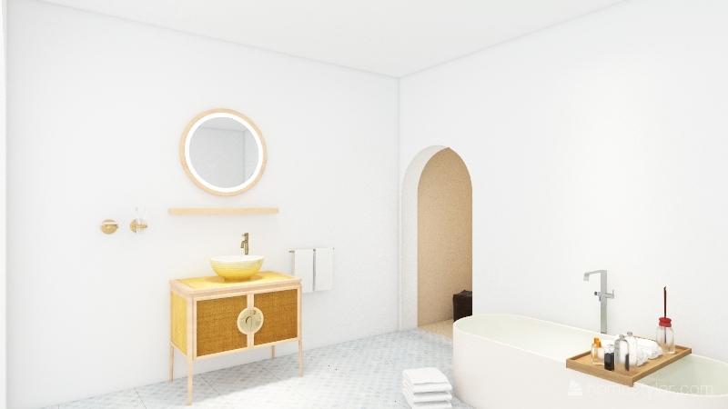 parent staycation Interior Design Render