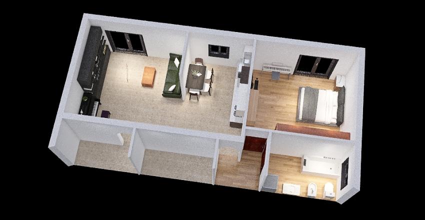 Giulio Clovio 54 Interior Design Render