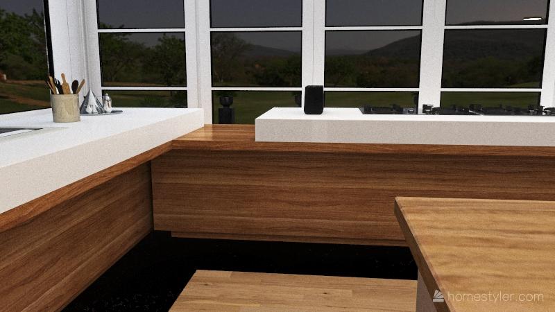 maison vitré Interior Design Render