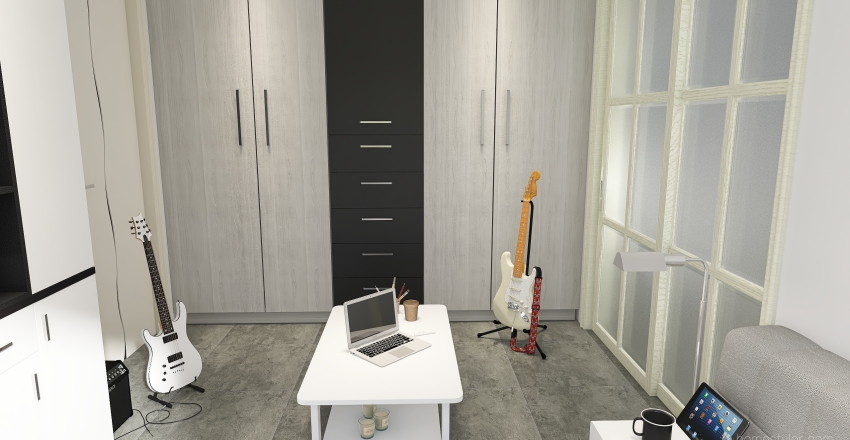gran piso en NY Interior Design Render