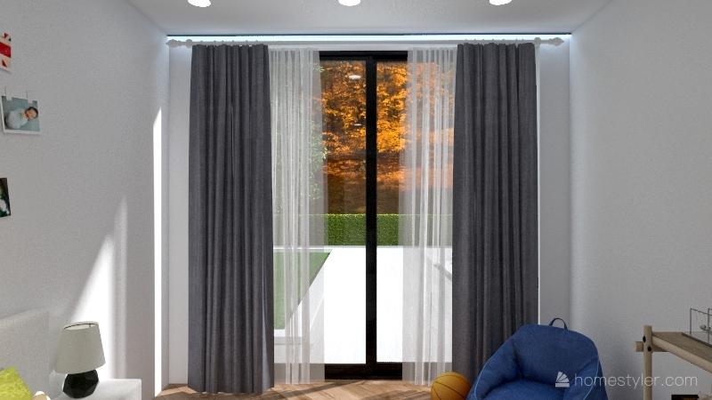 Contemporary Bungalow Interior Design Render