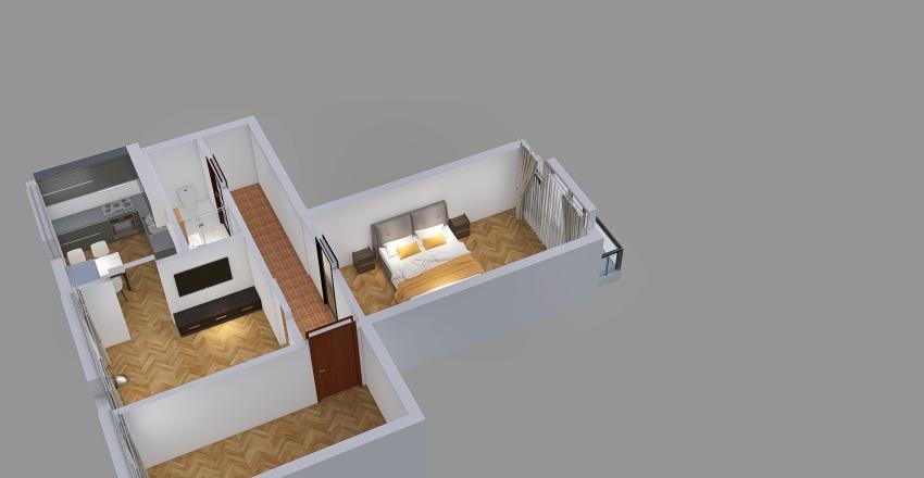 Zrenjaninská Teplice Interior Design Render