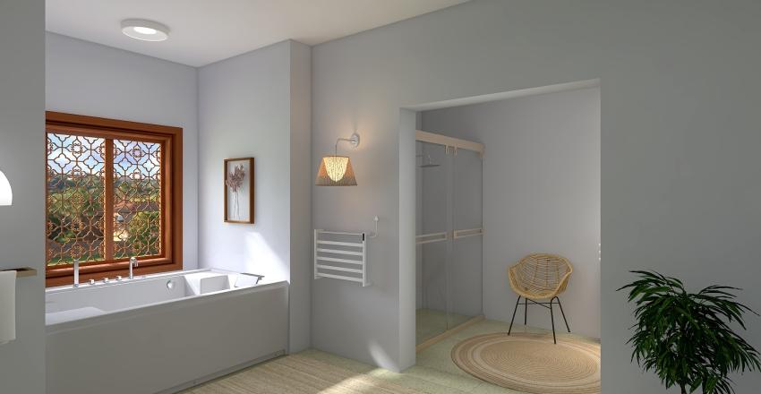 Sala de banho Interior Design Render