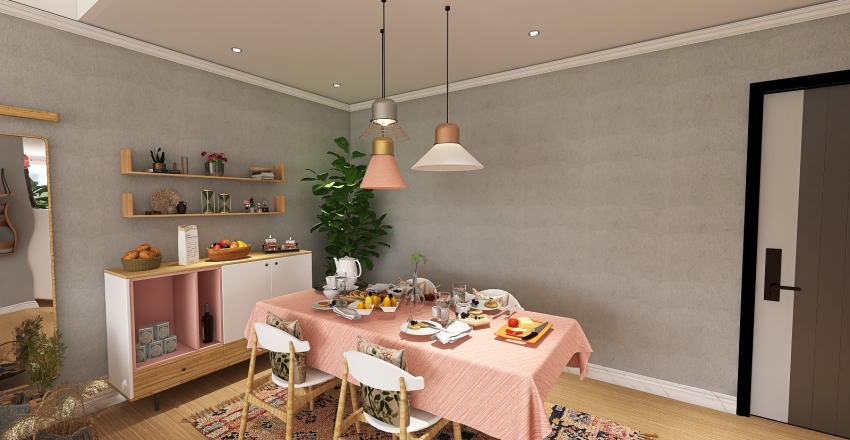 Barbie_Home Interior Design Render