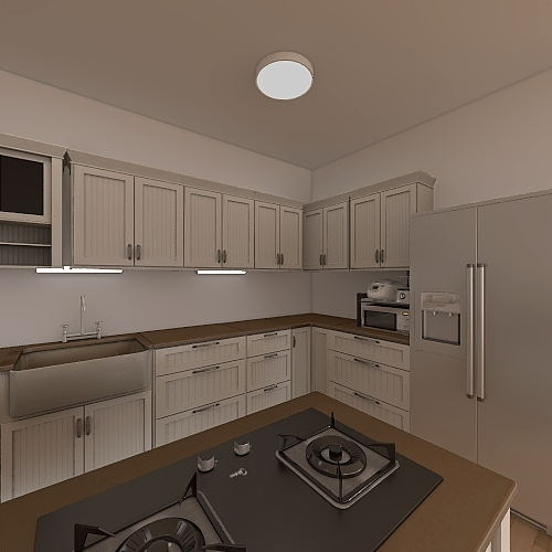 Chilling house Interior Design Render