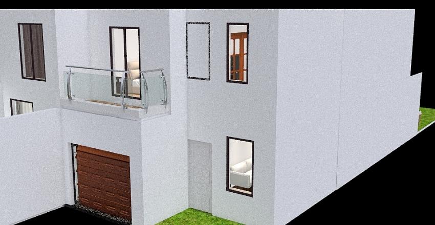 Duplex Vista Michelo Interior Design Render