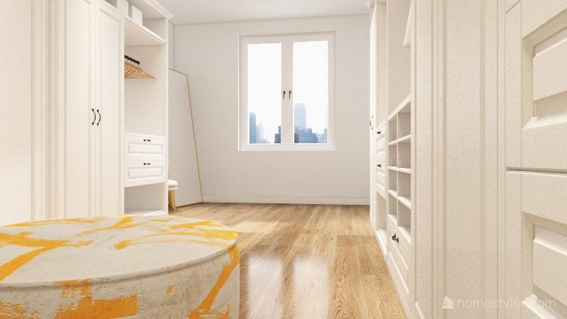 Closet Ousado Interior Design Render