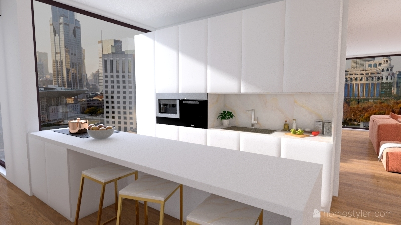 galanger Interior Design Render