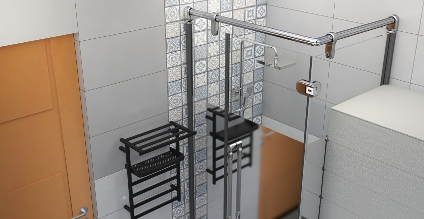 bathroom modern design Interior Design Render