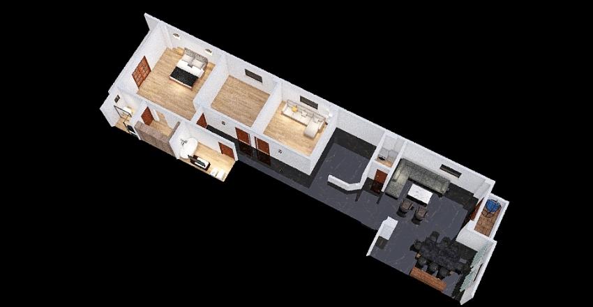69 apartment Interior Design Render