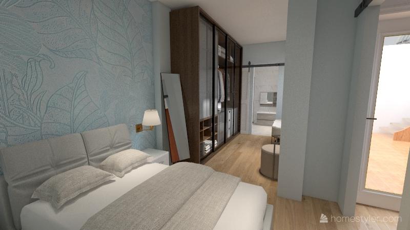 Planta Baja diafano Interior Design Render