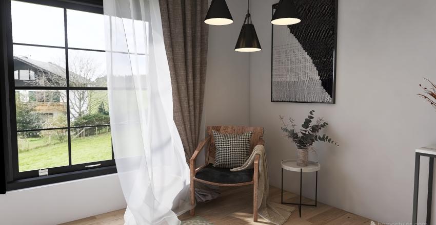 Prac House Interior Design Render