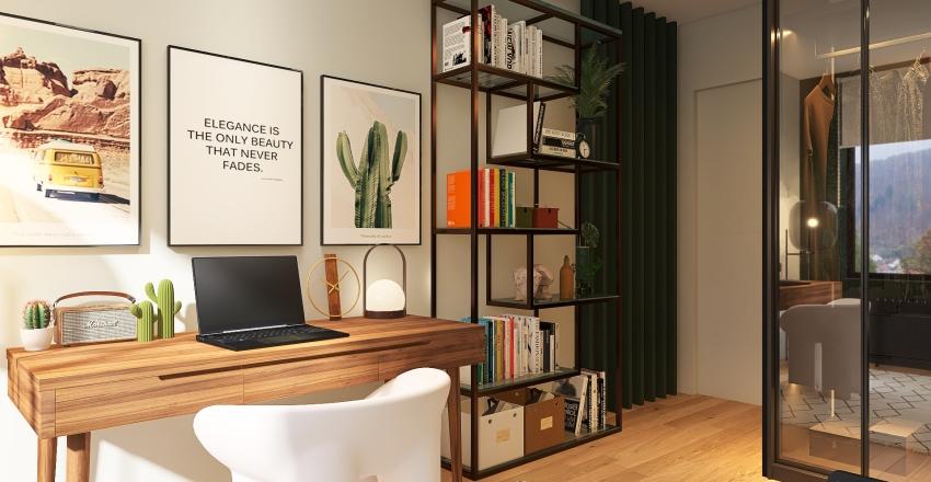 Redesign of My Room Interior Design Render