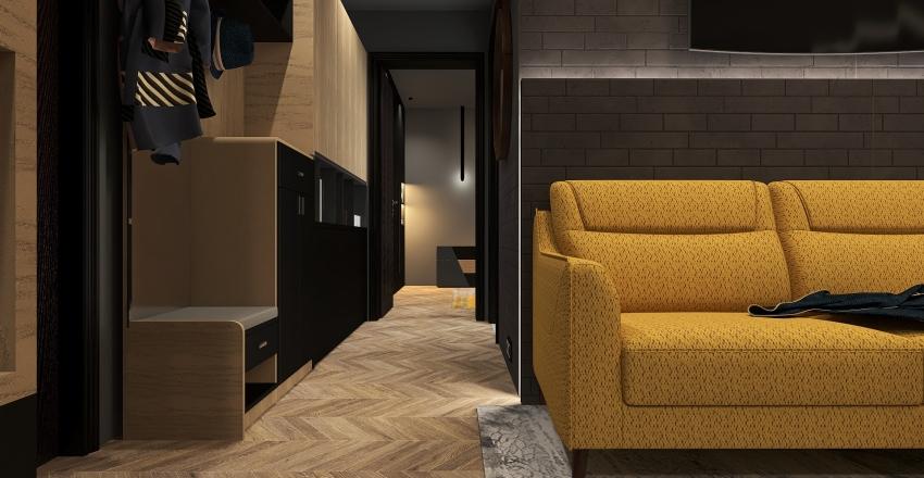 Atico Interior Design Render