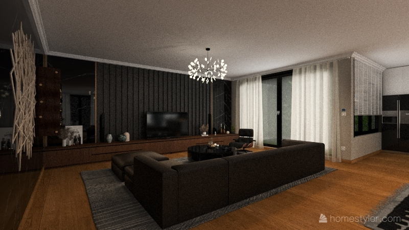 Sweet Home A1 Interior Design Render