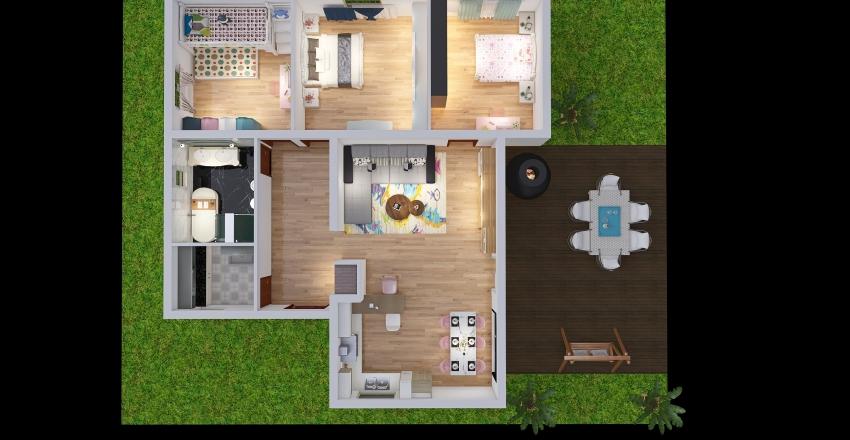 Modello1 Interior Design Render