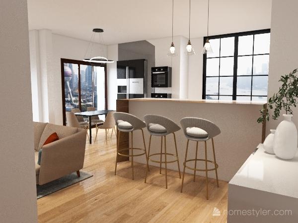 Gaia Miacola Miao Bau Interior Design Render