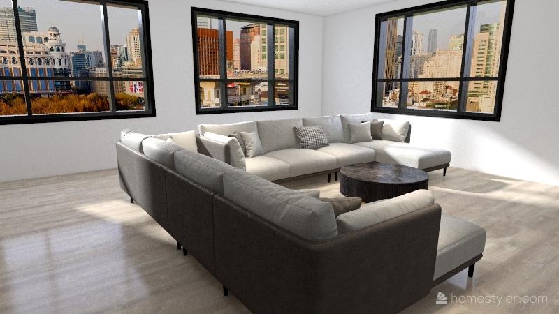 La Casa Moderna Interior Design Render