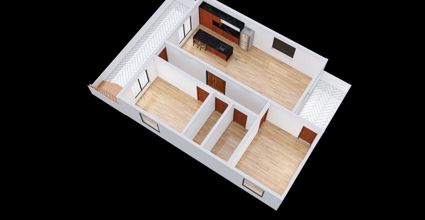 Copy of köşk Interior Design Render